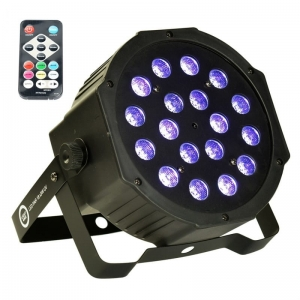LIGHT4ME LED PAR 18x3W UV reflektor ultrafioletowy