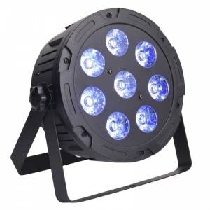 LIGHT4ME QUAD PAR 8x10W MKII RGBW LED slim płaski