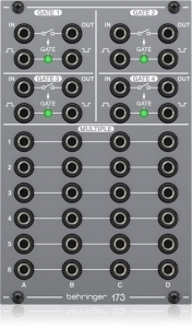 Behringer 173 QUAD GATE/MULTIPLES Syntezator modularny