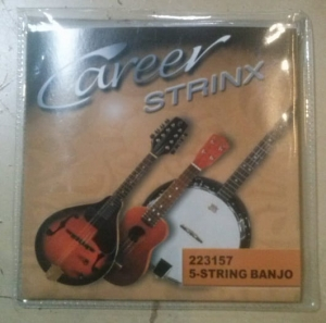 CAREER STRINX - struny do banjo 5 str.