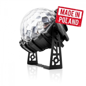 LED Magic Ball 8x3W RGBW - efekt LED